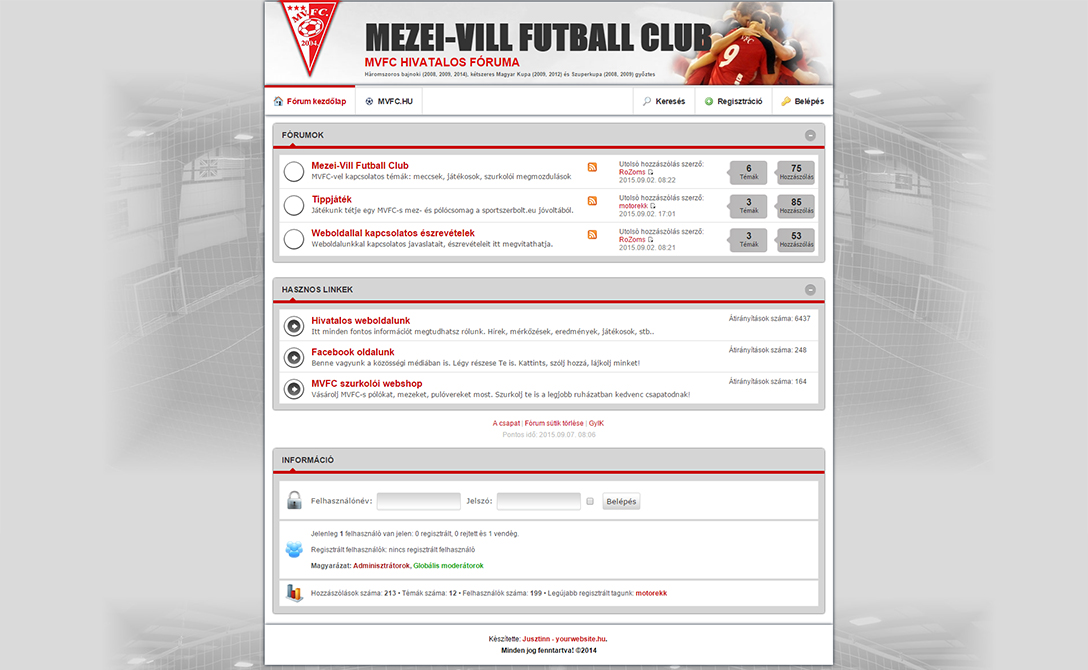 Forum.mvfc.hu