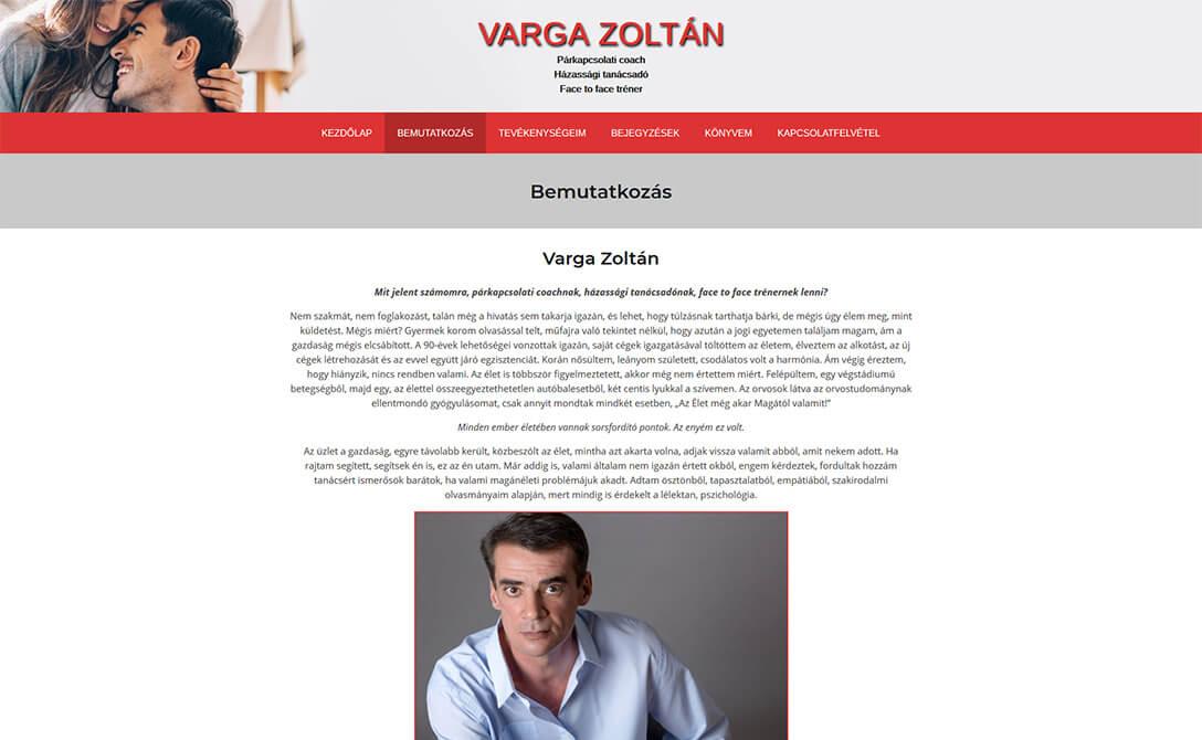 Parkapcsolat Varga Zoltan 2